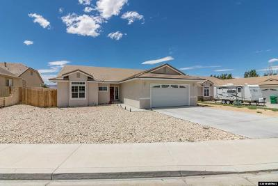 Fernley Single Family Home Active/Pending-Call: 1304 Rouge River Road