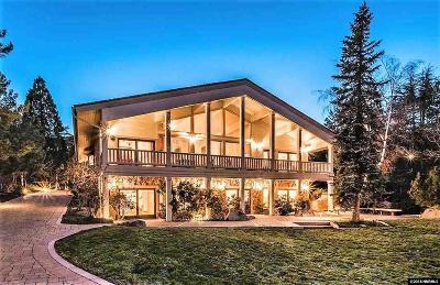 Reno Single Family Home New: 2640 W Lake Ridge Shores