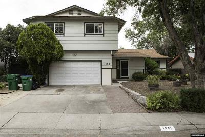 Reno Single Family Home New: 1450 Bridgewood