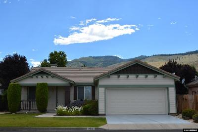 Carson City Single Family Home New: 278 Sussex Place
