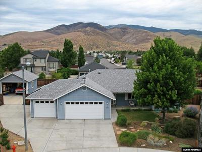 Carson City County Single Family Home New: 730 Rasner