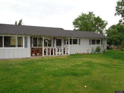 Gardnerville Single Family Home For Sale: 980 Dresslerville