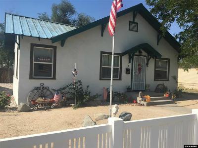 Fallon Single Family Home Active/Pending-Loan: 339 W Center