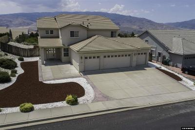 Washoe County Single Family Home New: 7124 Windstar Drive