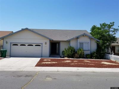 Fernley Single Family Home For Sale: 2127 Fort Bridger