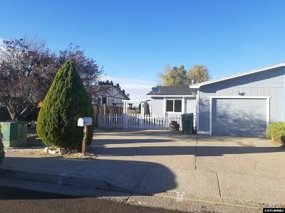 Reno Single Family Home Active/Pending-Loan: 6795 Lotus Street