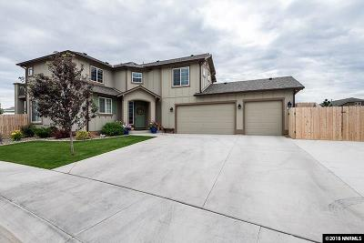 Gardnerville Single Family Home New: 1533 Snaffle Bit Drive
