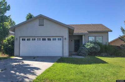 Reno Single Family Home New: 825 Sauvignon Dr