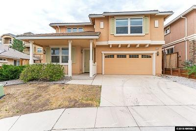 Reno NV Single Family Home New: $375,000