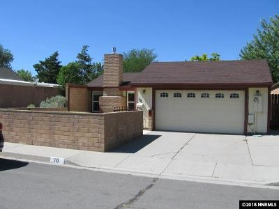 Carson City County Single Family Home New: 16 Castle Way