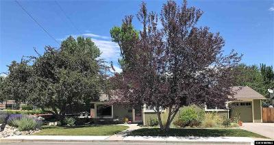 Carson City County Single Family Home New: 1006 W King Street