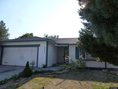 Sparks Single Family Home New: 3643 Koskela
