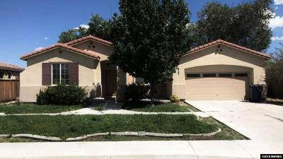 Fernley Single Family Home For Sale: 917 Jill Marie
