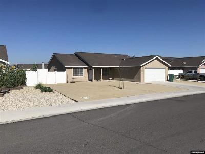 Fernley Single Family Home New: 1376 White Bluffs Circle