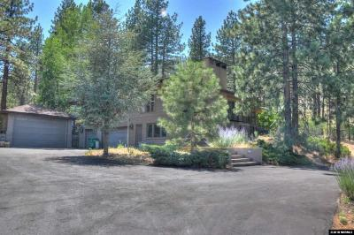 Carson City Single Family Home New: 4600 Numaga Pass