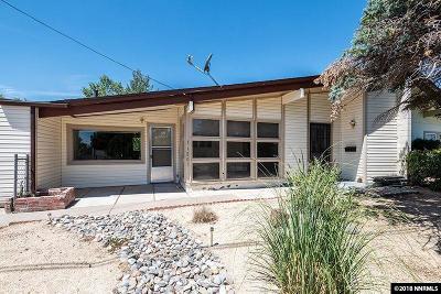 Reno Single Family Home For Sale: 11201 Green Mountain Street