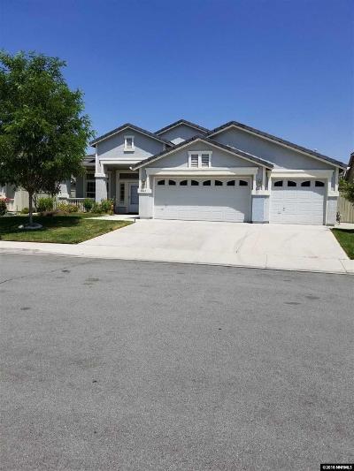 Reno Single Family Home New: 9640 Frankwood Dr