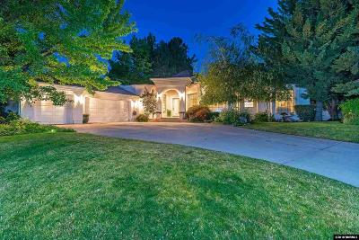 Reno Single Family Home New: 2551 Lake Ridge Shores E.