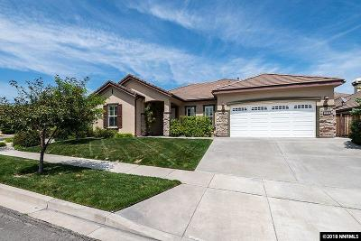 Reno Single Family Home New: 1190 Cliff Park Dr