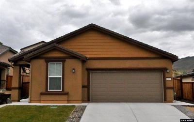 Reno Single Family Home New: 1120 Wakefield Trail