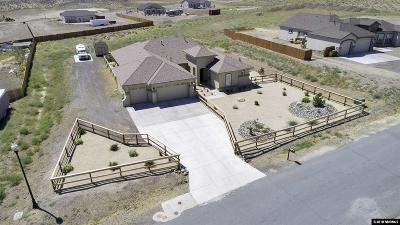 Fernley Single Family Home New: 1215 Sage