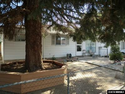 Sparks Single Family Home Active/Pending-Loan: 1325 Zephyr Way