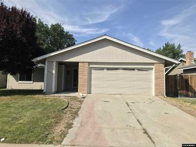Reno Single Family Home New: 4735 Travis Way