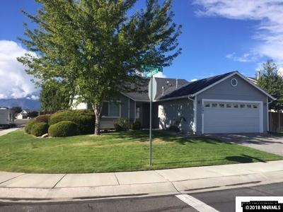 Gardnerville Single Family Home New: 1307 W Aylesbury