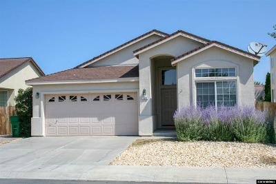 Carson City Single Family Home Active/Pending-Loan: 1452 Northill Dr