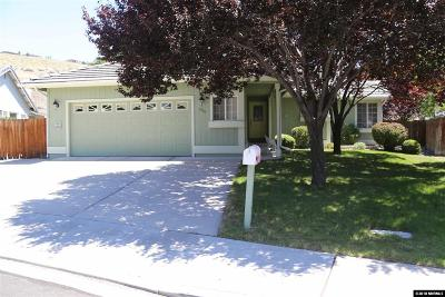 Sparks Single Family Home Active/Pending-Loan: 1745 Canyon Terrace