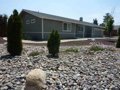 Gardnerville Single Family Home Active/Pending-Loan: 967 Arrowhead
