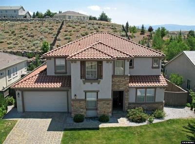 Washoe County Single Family Home For Sale: 8390 Opal Station