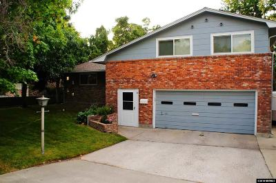 Reno Single Family Home New: 1817 Mayberry Drive