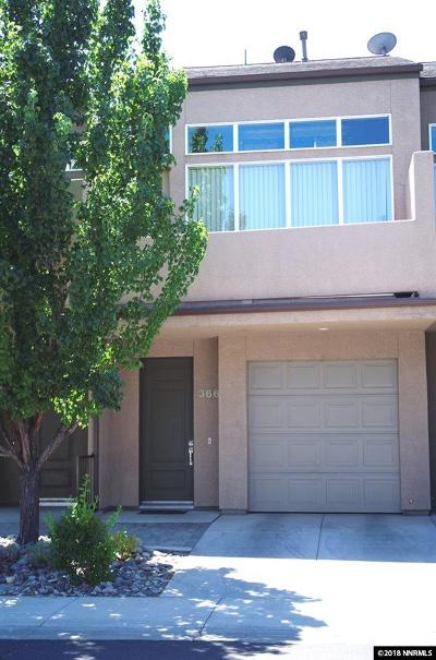 Washoe County Condo/Townhouse For Sale: 366 State