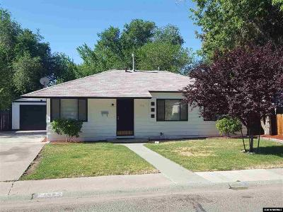 Sparks Single Family Home Active/Pending-Loan: 109 J Street