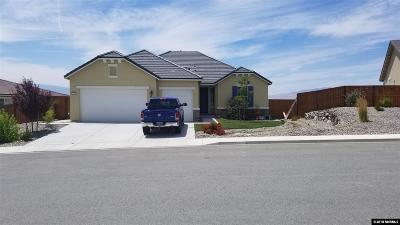 Sparks Single Family Home New: 3355 Barolo Court