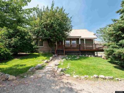 Single Family Home For Sale: 1980 Emigrant Trail