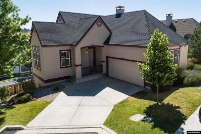 Sparks Single Family Home For Sale: 3492 Niblick Drive