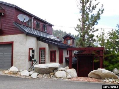 Washoe County Single Family Home For Sale: 20980 Mount Rose Highway