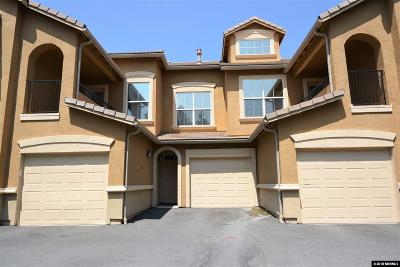 Reno Condo/Townhouse For Sale: 17000 Wedge Pkwy #922