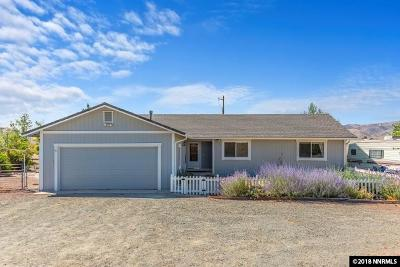 Reno Single Family Home For Sale: 5155 Pasture View Rd.
