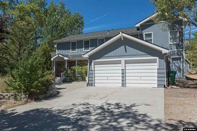 Washoe Valley Single Family Home Active/Pending-Loan: 105 Todd