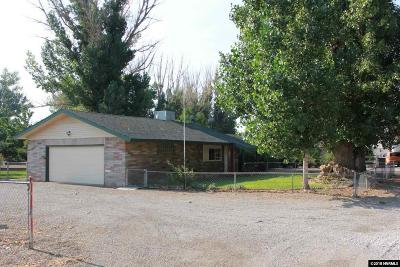 Yerington Single Family Home Active/Pending-Loan: 2 Camelot