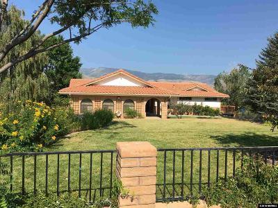 Carson City Single Family Home Active/Pending-Loan: 3000 Conte Dr