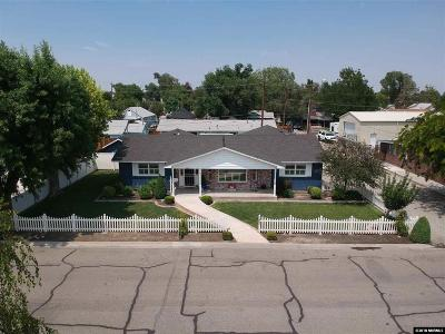 Yerington Single Family Home For Sale: 102 Meadow Drive