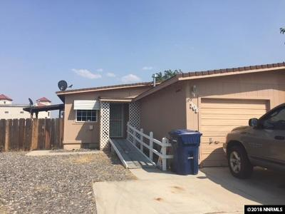 Fernley Single Family Home For Sale: 308 Andrea Way