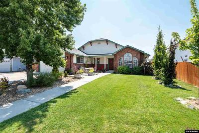Gardnerville Single Family Home For Sale: 1449 Patricia