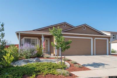 Reno Single Family Home Active/Pending-Loan: 17630 White Tail Ct