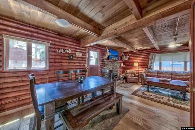 South Lake Tahoe CA Single Family Home For Sale: $369,900