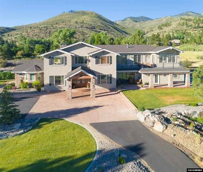 Washoe County Single Family Home For Sale: 7405 Franktown Rd